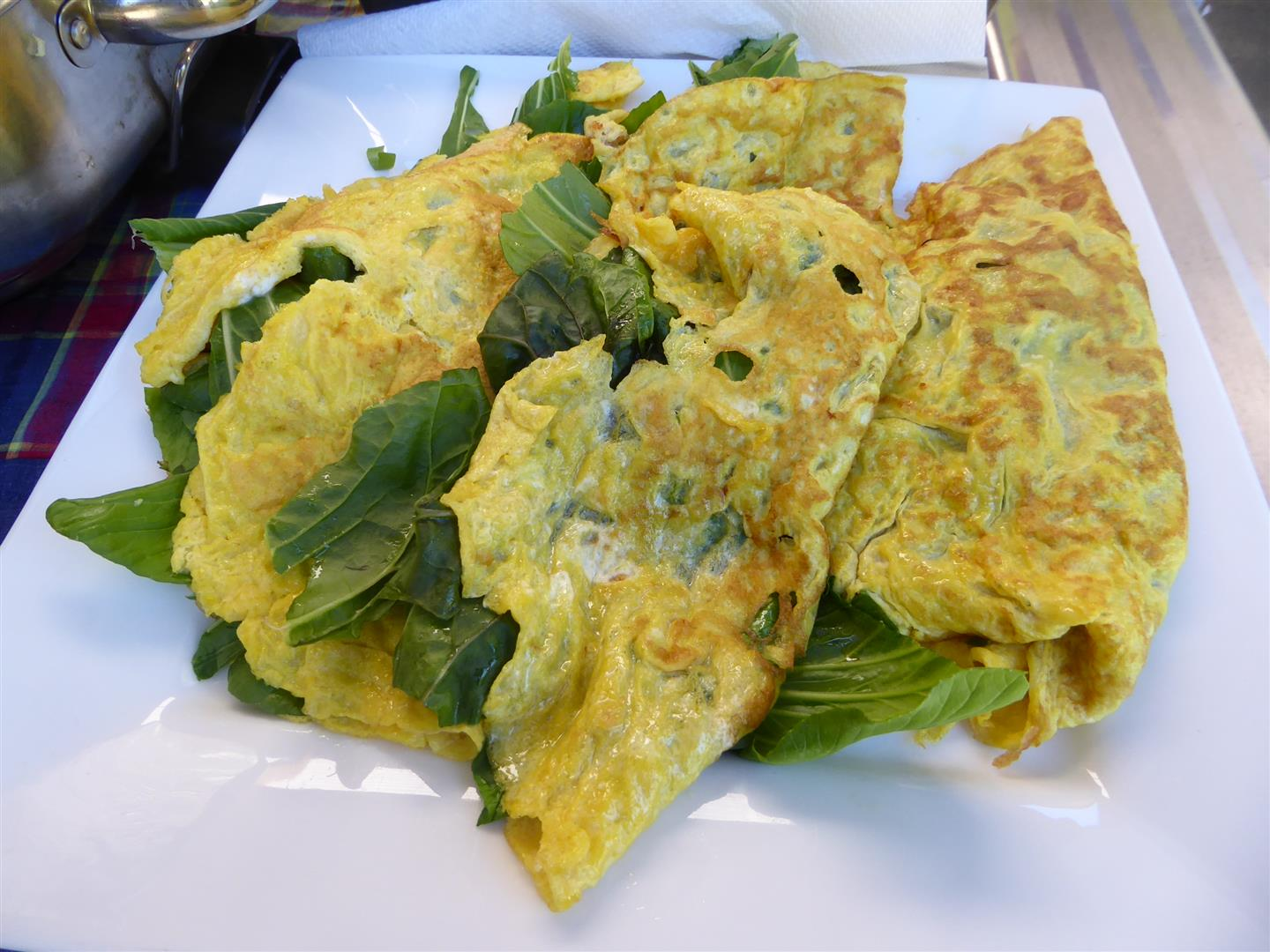 Indonesian Omleettes
